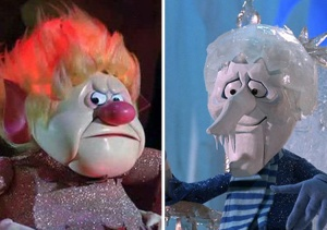 Ever notice Heat Miser was significantly more of a douche than Snow Miser?