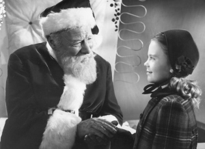 This movie is the reason to believe in a Santa Claus. That, and extra presents. Mostly the extra presents.